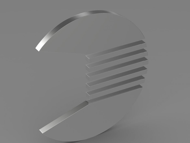 quant logo 3d model 3ds max fbx c4d lwo ma mb hrc xsi obj 213258