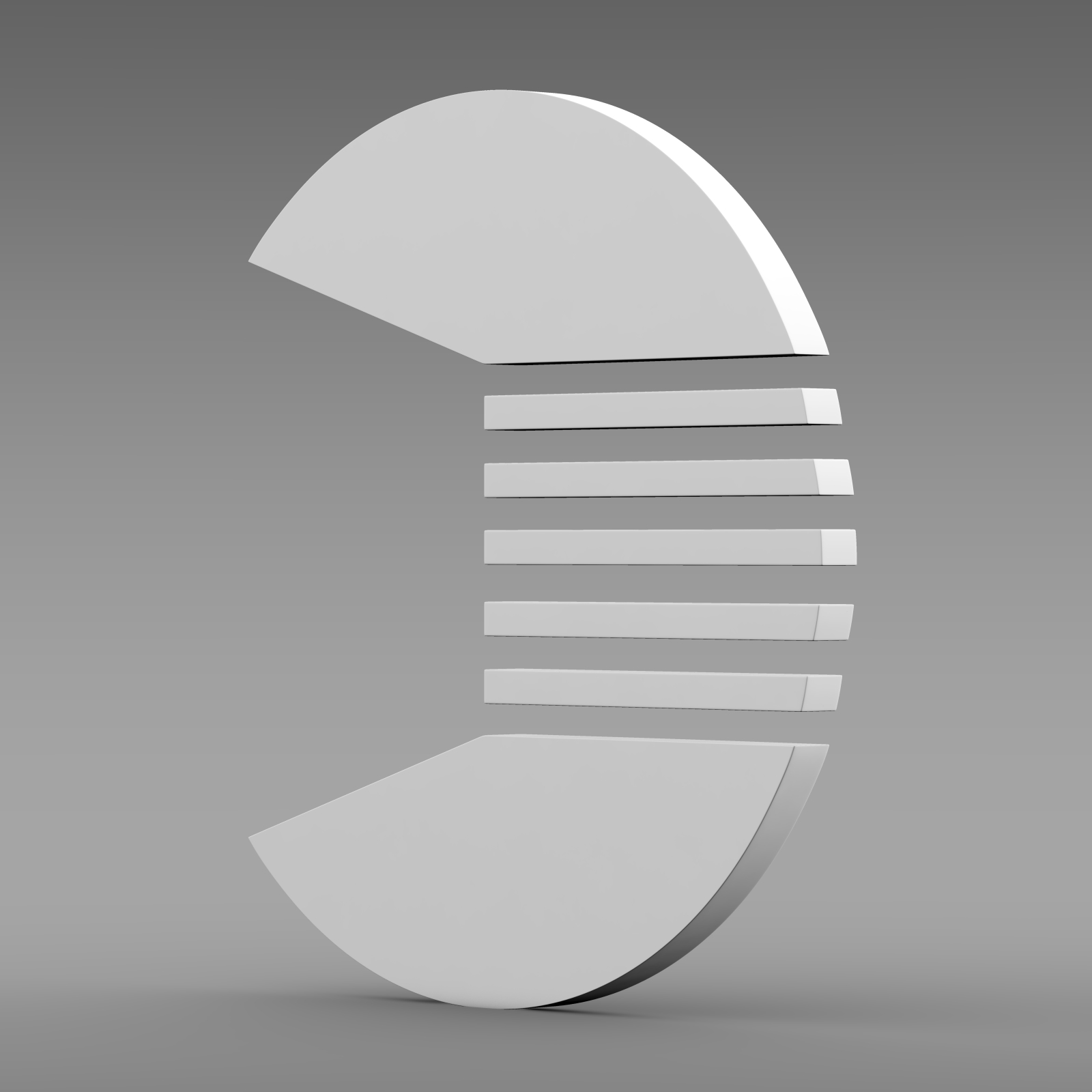 quant logo 3d model 3ds max fbx c4d lwo ma mb hrc xsi obj 213259
