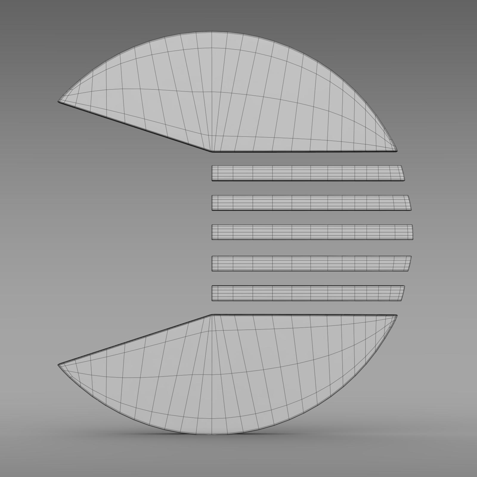 quant logo 3d model 3ds max fbx c4d lwo ma mb hrc xsi obj 213262