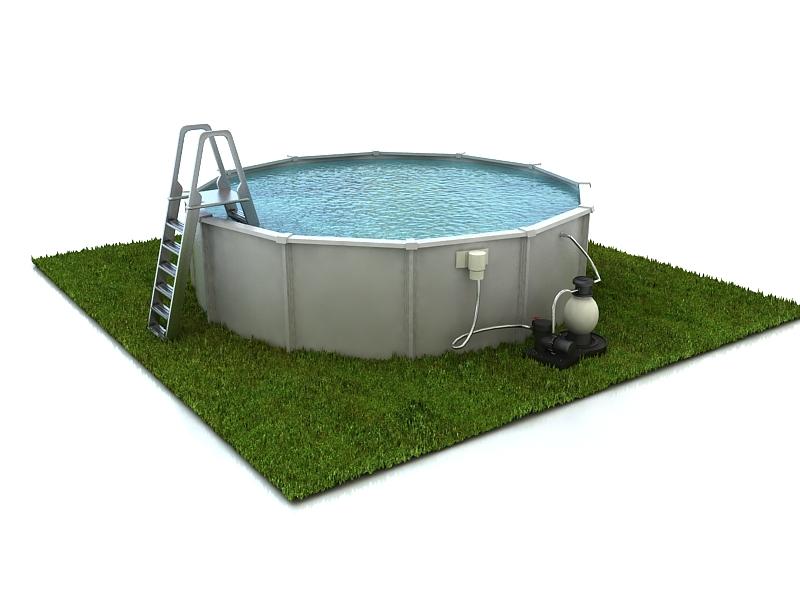 swimming pool 3d model max 213318