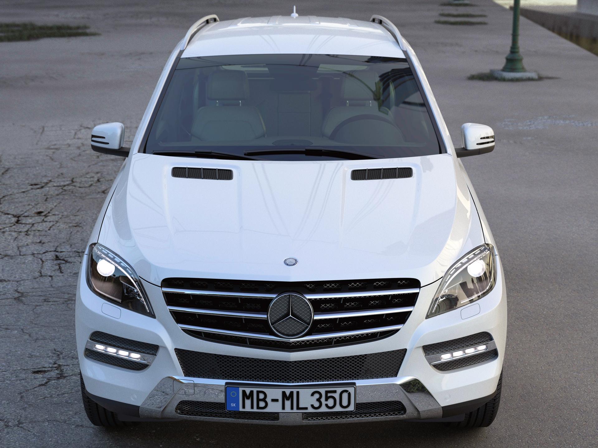 Mercedes benz ml class 2013 3d model buy mercedes benz for Mercedes benz suv models 2013