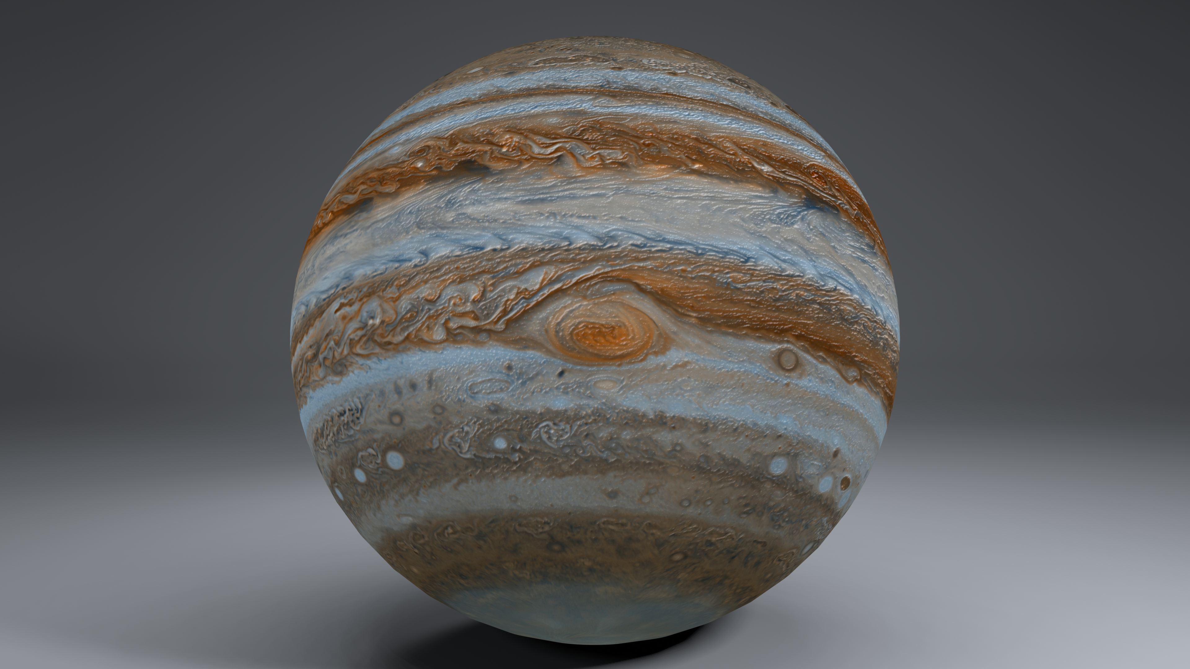 Jupiter 6k 3d model 3ds fbx blend dae obj 213399