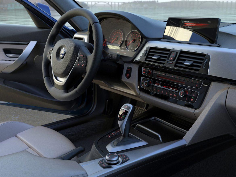 BMW 3 series F30 Sport Line 2016 3d model 3ds max fbx c4d obj