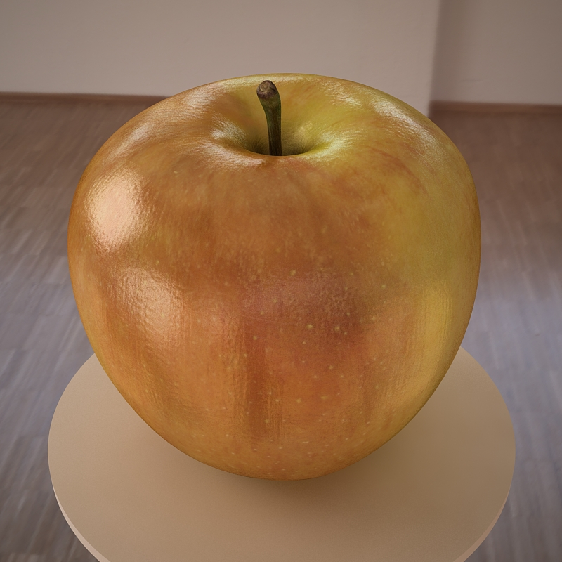apple fruit 3d model max jpeg jpg obj 213471