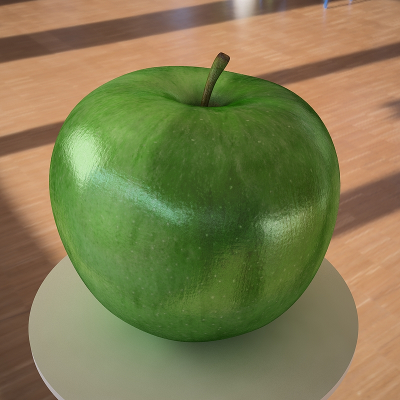 apple fruit 3d model max jpeg jpg obj 213472