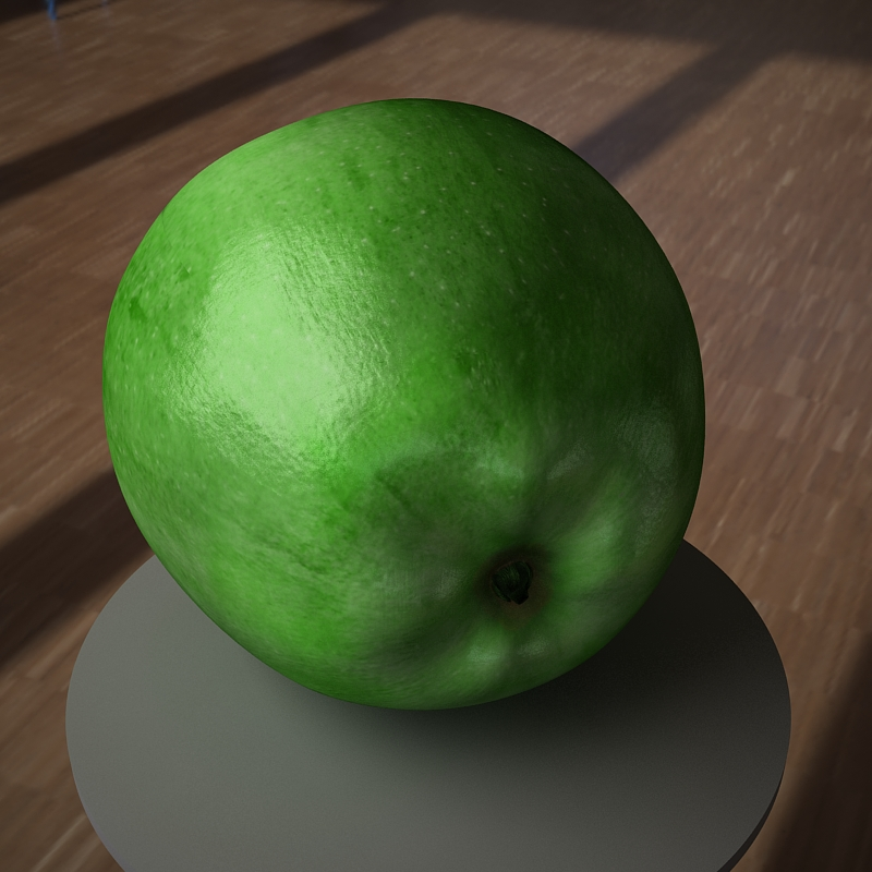 apple fruit 3d model max jpeg jpg obj 213474