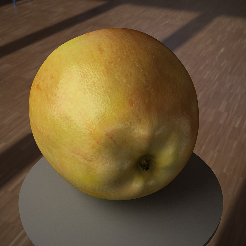 apple fruit 3d model max jpeg jpg obj 213475