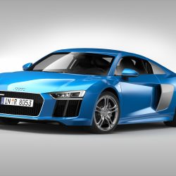 Audi R8 V10 Coupe (2016) 3d model 3ds max fbx obj