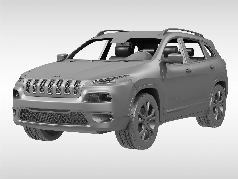 jeep cherokee (2014) 3d model 3ds max fbx obj 213498