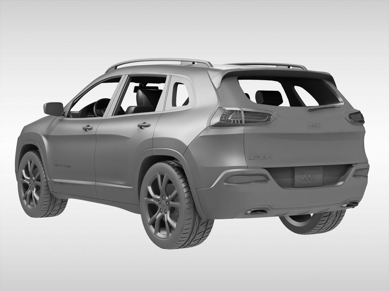jeep cherokee (2014) 3d model 3ds max fbx obj 213499