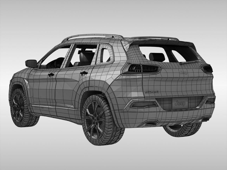 jeep cherokee (2014) 3d model 3ds max fbx obj 213501
