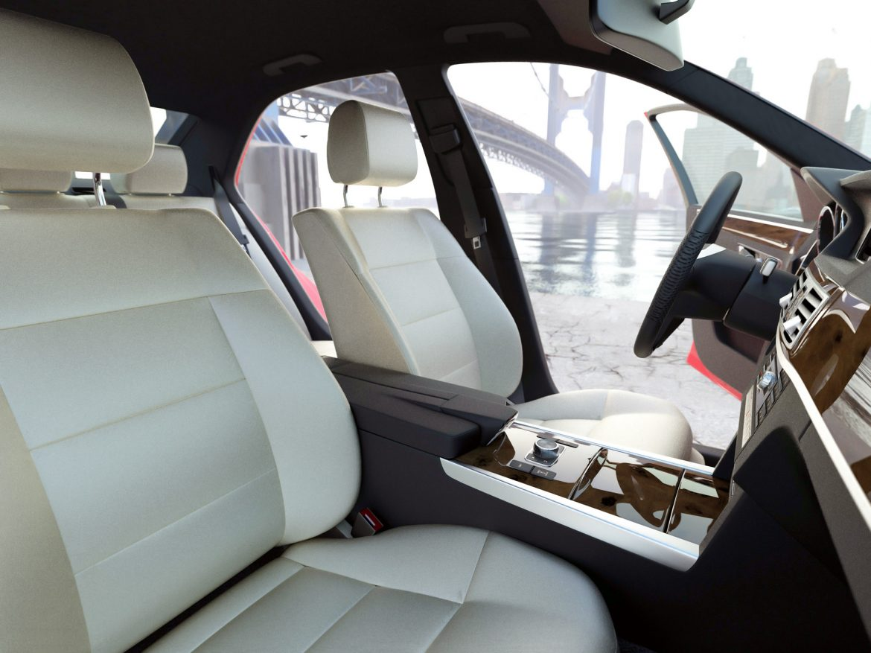 Mercedes Benz E Class Avantgarde 2014 3d model 0