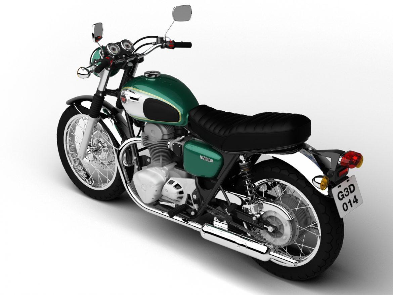 kawasaki w800 2014 3d model 3ds max dxf fbx c4d obj 213638