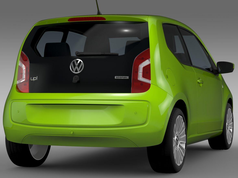 vw up ecofuel 3door 2015 3d model 3ds max fbx c4d lwo ma mb hrc xsi obj 213734