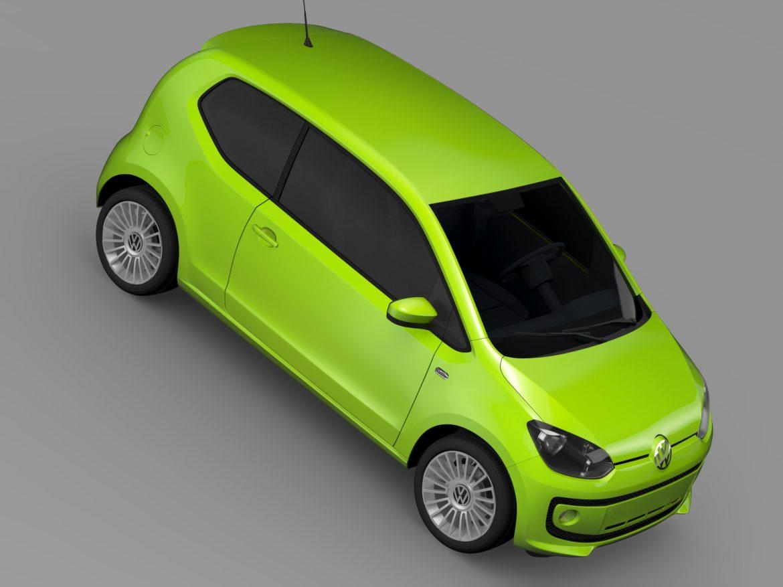 vw up ecofuel 3door 2015 3d model 3ds max fbx c4d lwo ma mb hrc xsi obj 213737