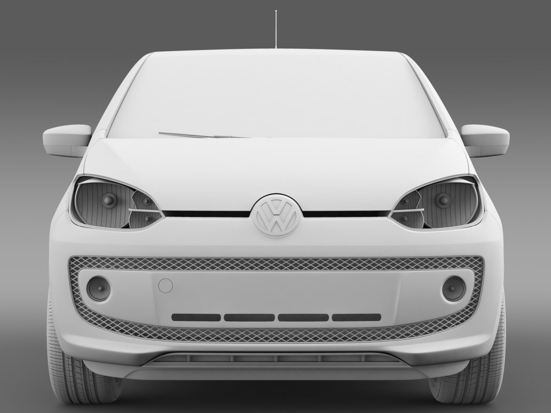 vw up ecofuel 3door 2015 3d model 3ds max fbx c4d lwo ma mb hrc xsi obj 213738