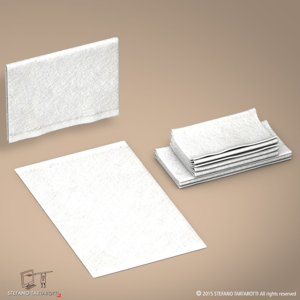 towel 3d model 3ds dxf fbx c4d dae obj 213746