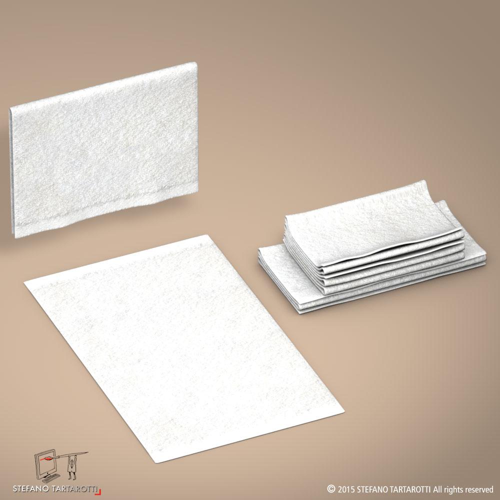 towel 3d model 3ds dxf fbx c4d dae obj 213746