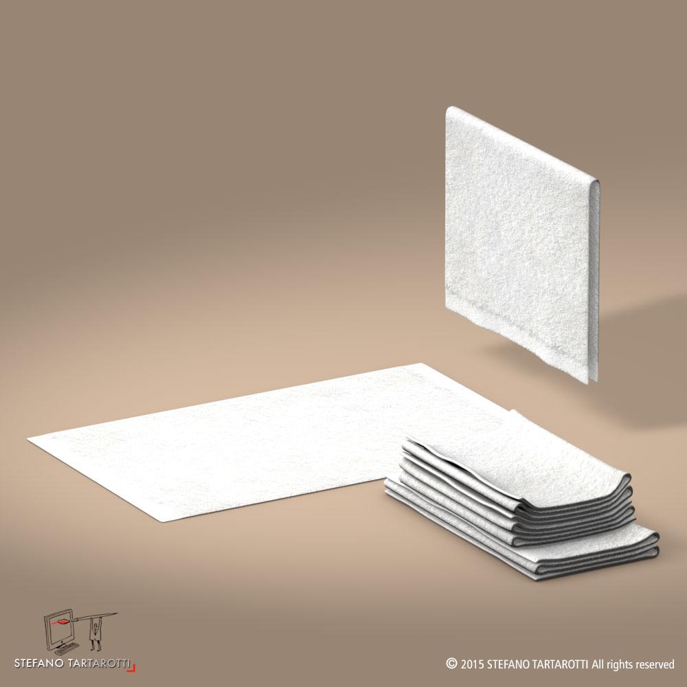 towel 3d model 3ds dxf fbx c4d dae obj 213747