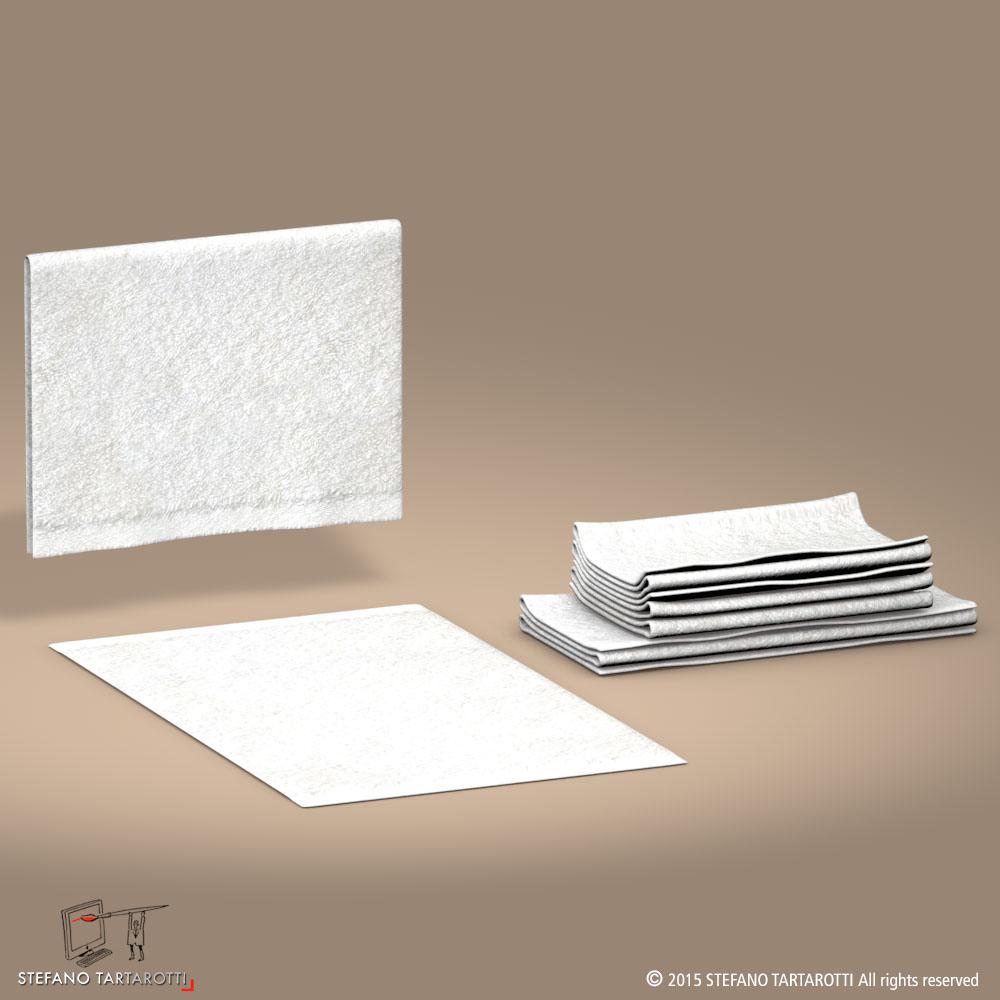 towel 3d model 3ds dxf fbx c4d dae obj 213748