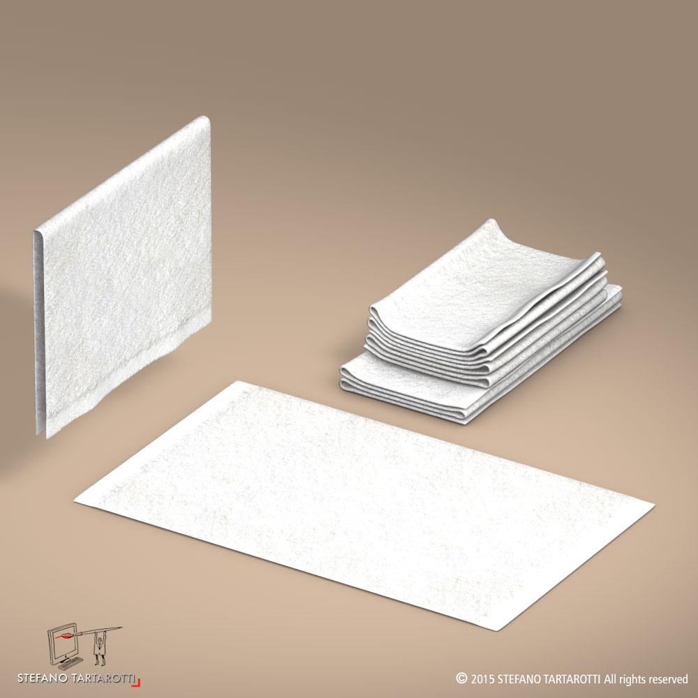 towel 3d model 3ds dxf fbx c4d dae obj 213749