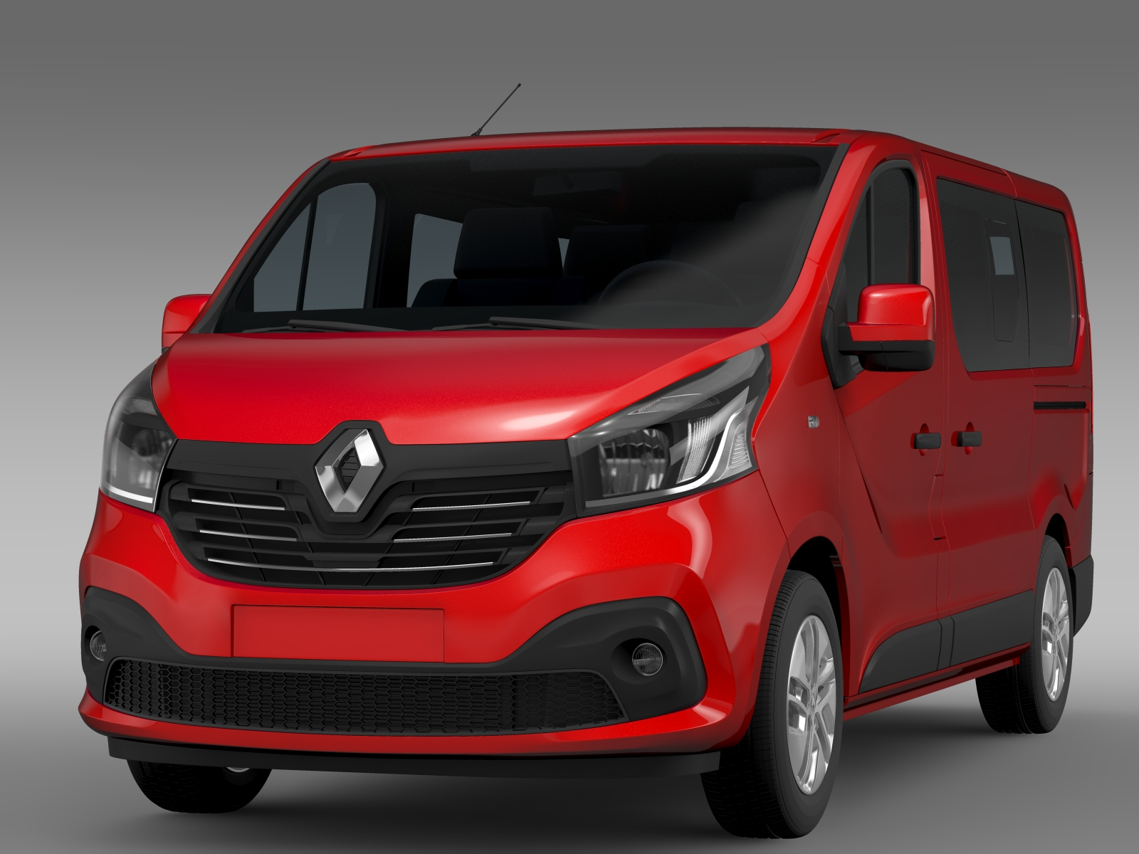 renault trafic minibus 2015 3d model buy renault trafic minibus 2015 3d model flatpyramid. Black Bedroom Furniture Sets. Home Design Ideas