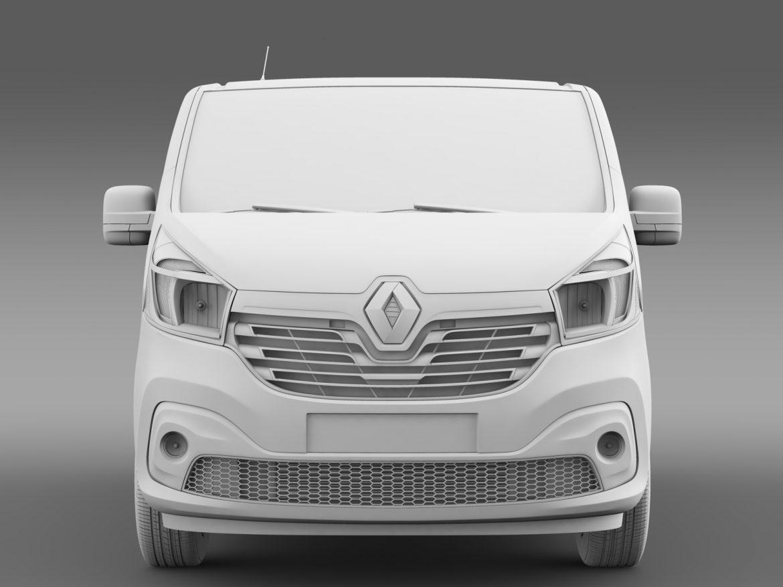 renault trafic minibus 2015 3d model 3ds max fbx c4d lwo ma mb hrc xsi obj 213826