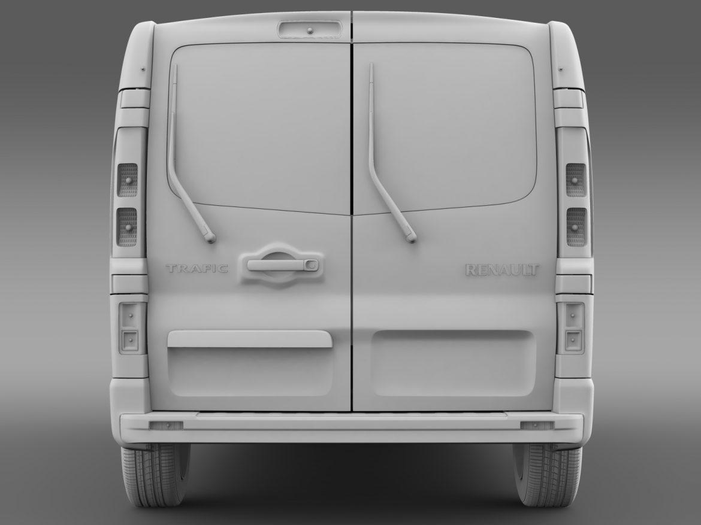 renault trafic minibus 2015 3d model 3ds max fbx c4d lwo ma mb hrc xsi obj 213827