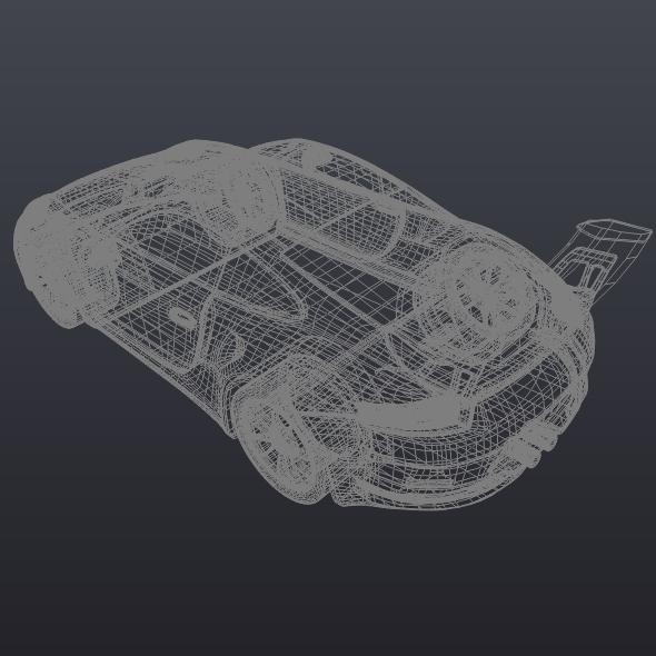 porsche 911 gt3 rs 2015 restyled 3d model fbx blend dae lwo obj 213848