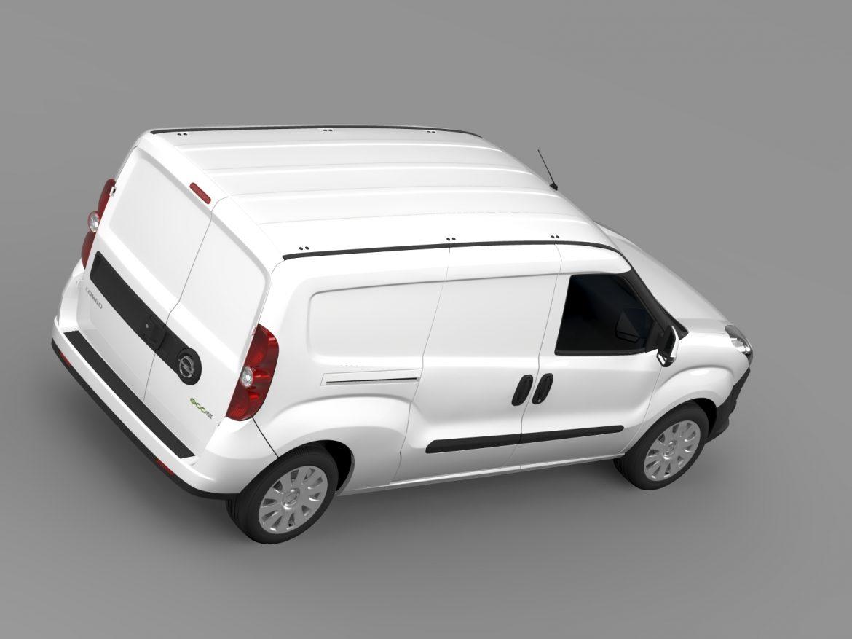 opel combo lwb cargo (d) 2015 3d model 3ds max fbx c4d lwo ma mb hrc xsi obj 213882