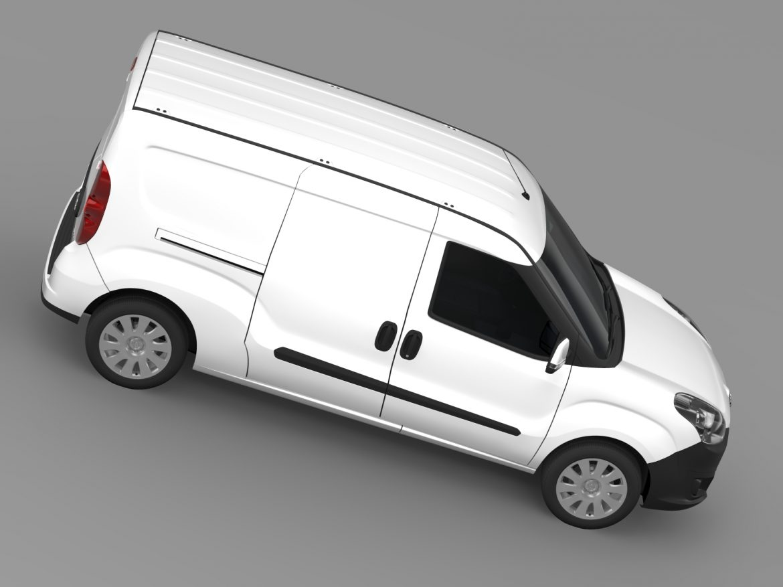 opel combo lwb cargo (d) 2015 3d model 3ds max fbx c4d lwo ma mb hrc xsi obj 213883