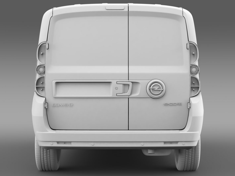 opel combo lwb cargo (d) 2015 3d model 3ds max fbx c4d lwo ma mb hrc xsi obj 213886
