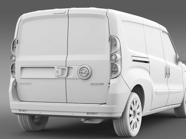 opel combo lwb cargo (d) 2015 3d model 3ds max fbx c4d lwo ma mb hrc xsi obj 213887