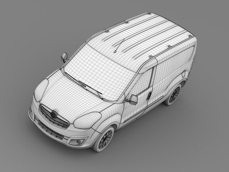opel combo lwb cargo (d) 2015 3d model 3ds max fbx c4d lwo ma mb hrc xsi obj 213889