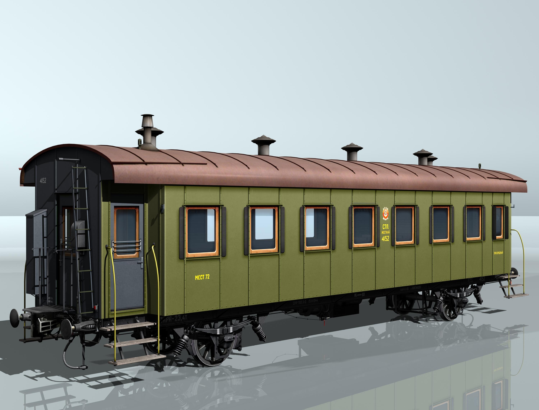 reisivaguniproov 1930 3d mudel 3ds max fbx obj 213917