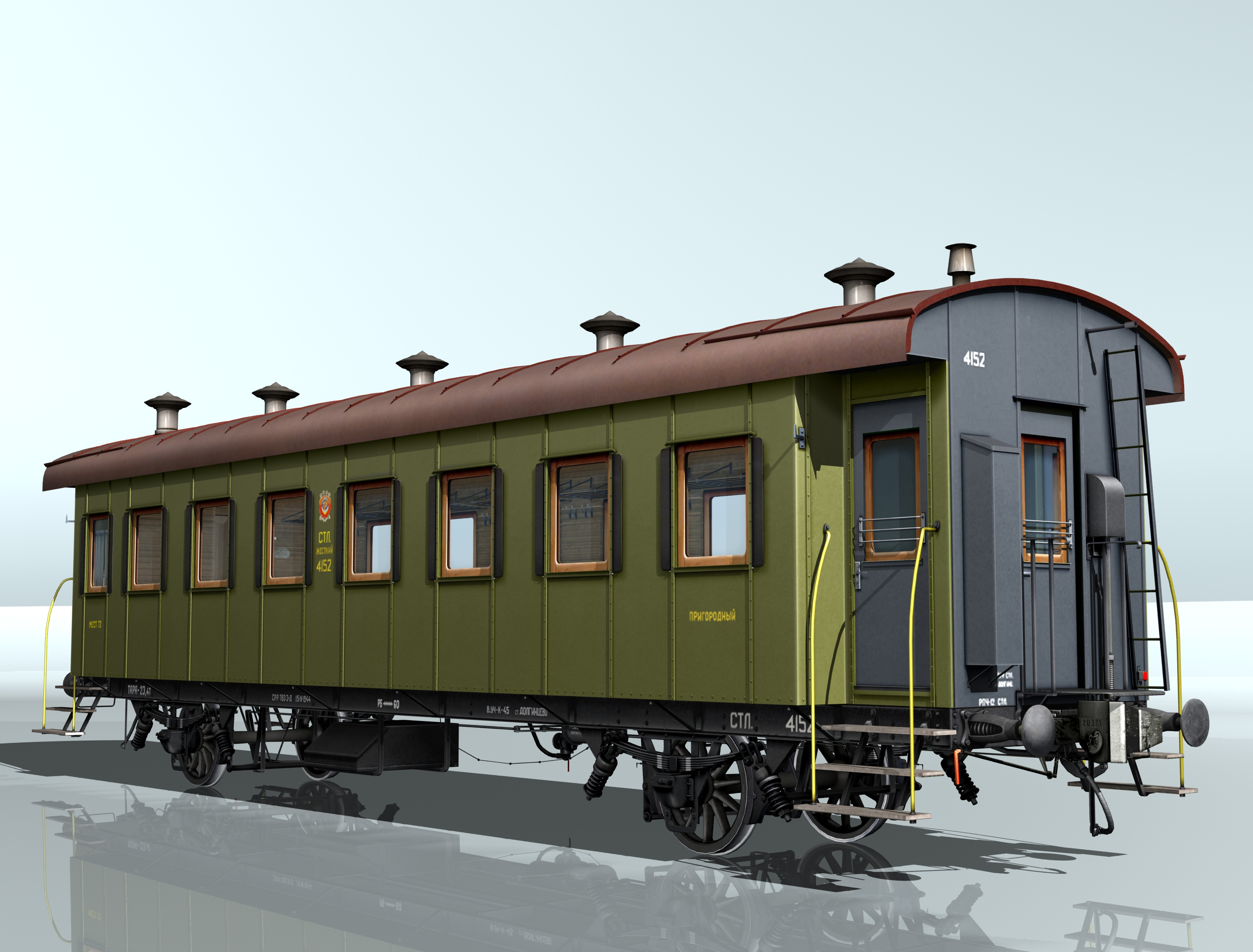 passenger wagon sample 1930 3d model 3ds max fbx obj 213918