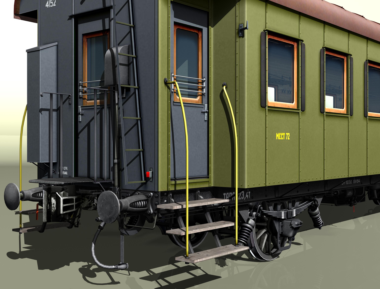reisivaguniproov 1930 3d mudel 3ds max fbx obj 213919