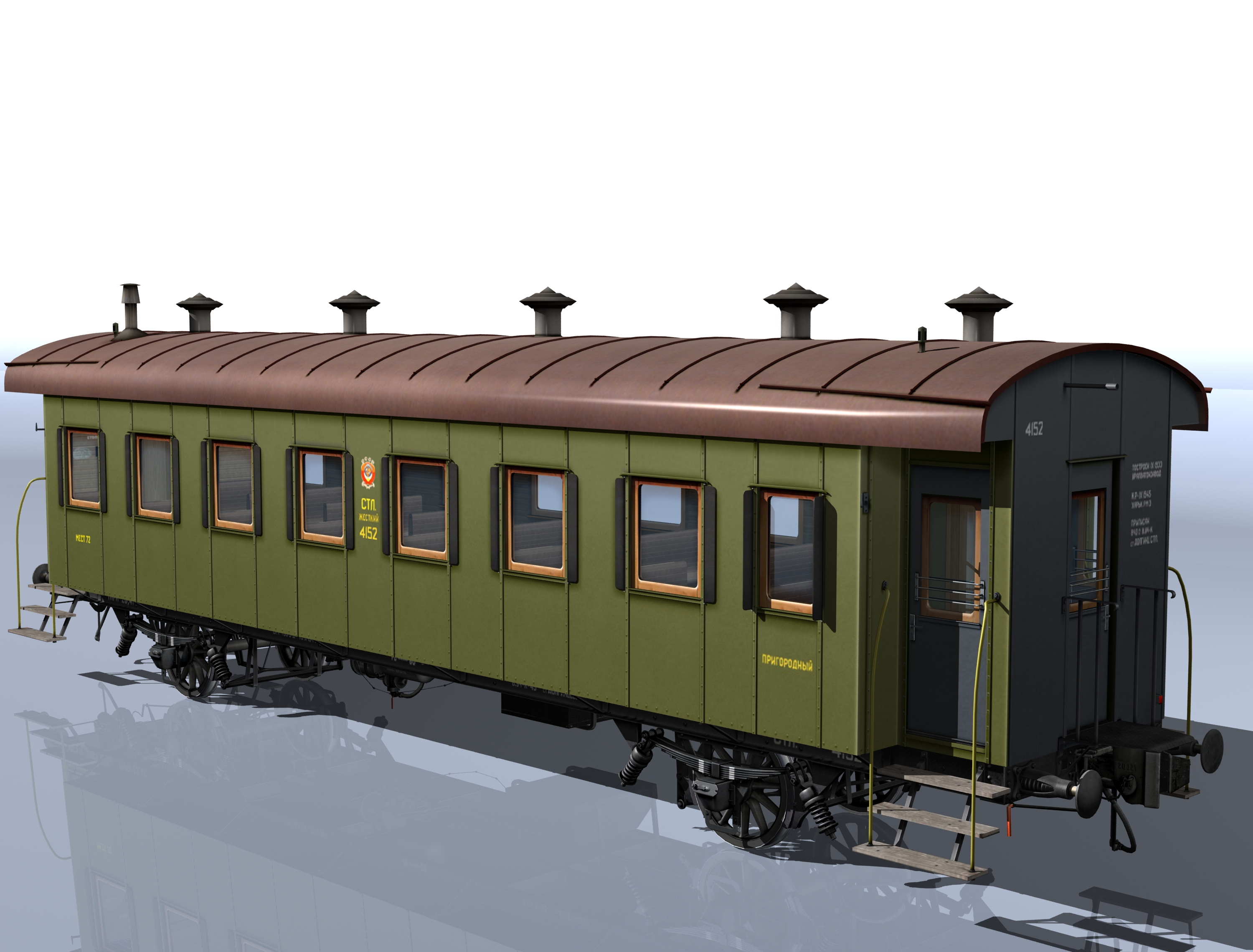 passenger wagon sample 1930 3d model 3ds max fbx obj 213920