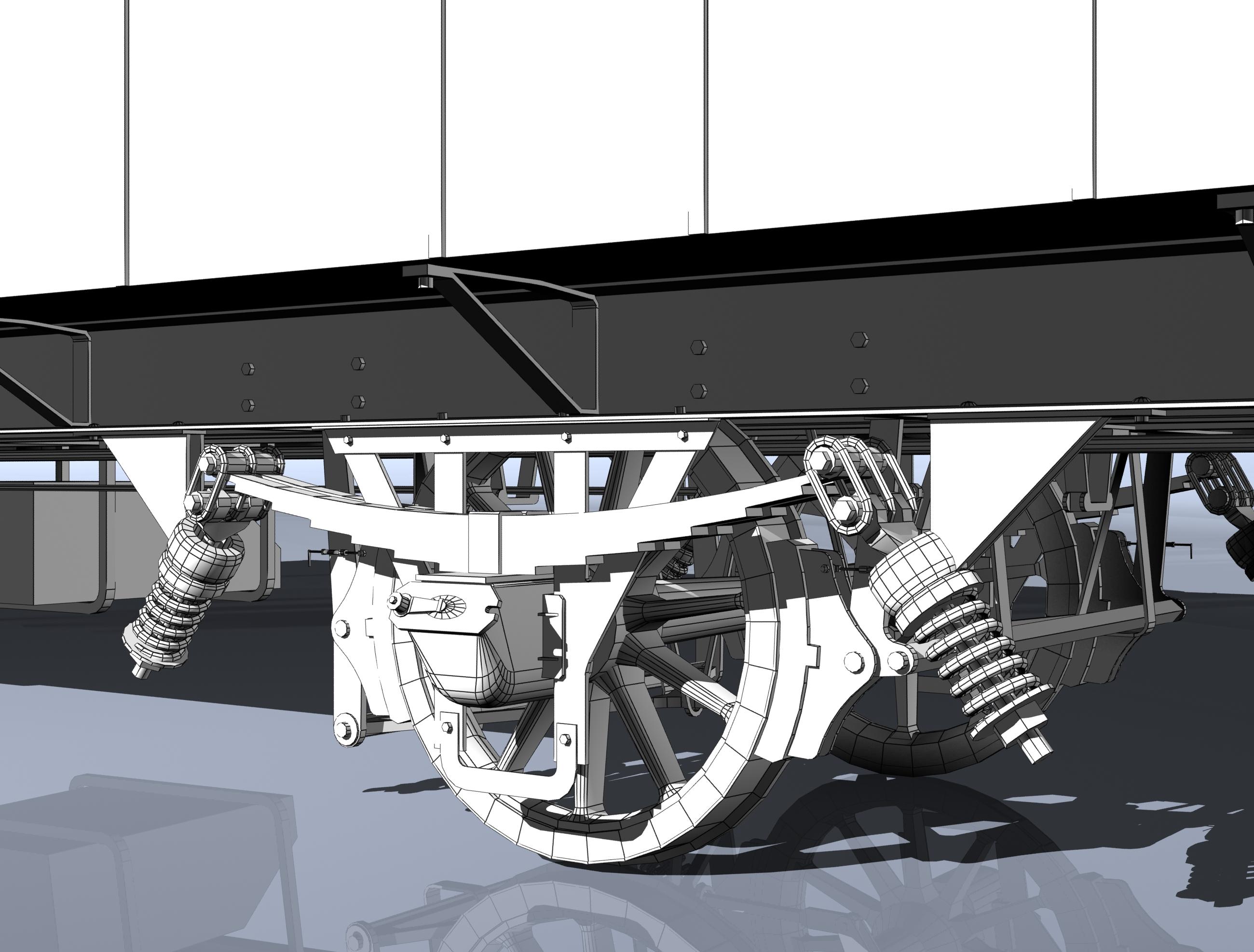 reisivaguniproov 1930 3d mudel 3ds max fbx obj 213921