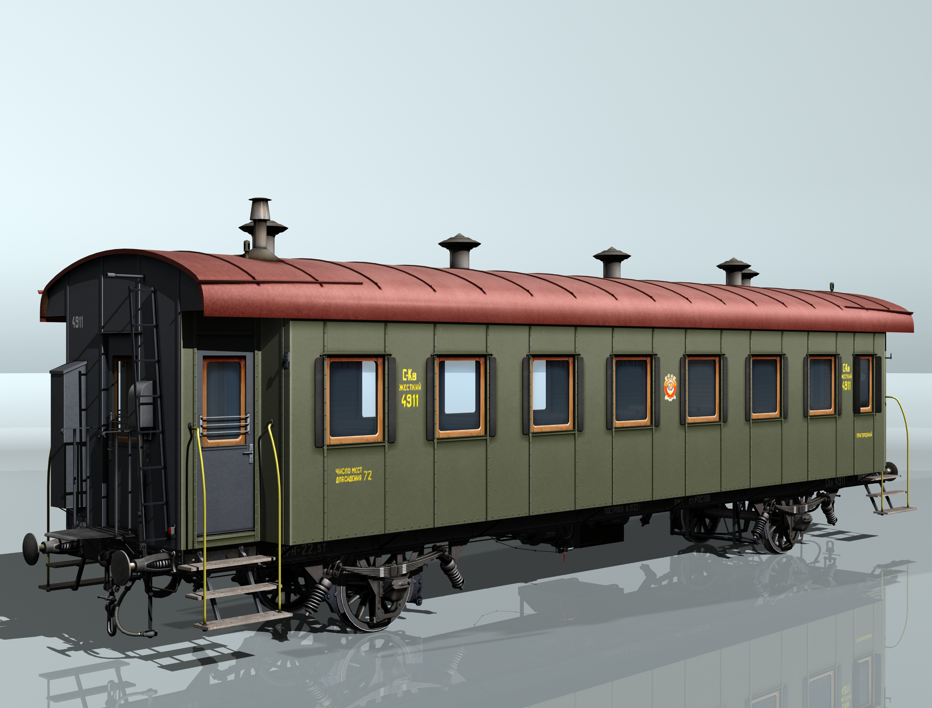wagon passenger 2-axles 4911 3d model 3ds max fbx obj 213932