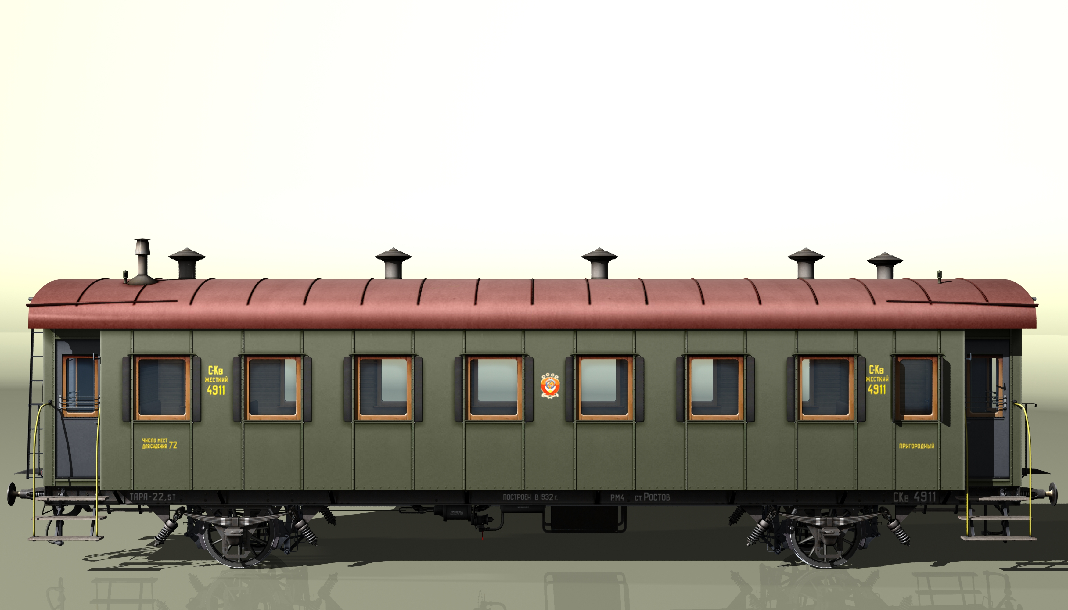 wagon passenger 2-axles 4911 3d model 3ds max fbx obj 213933