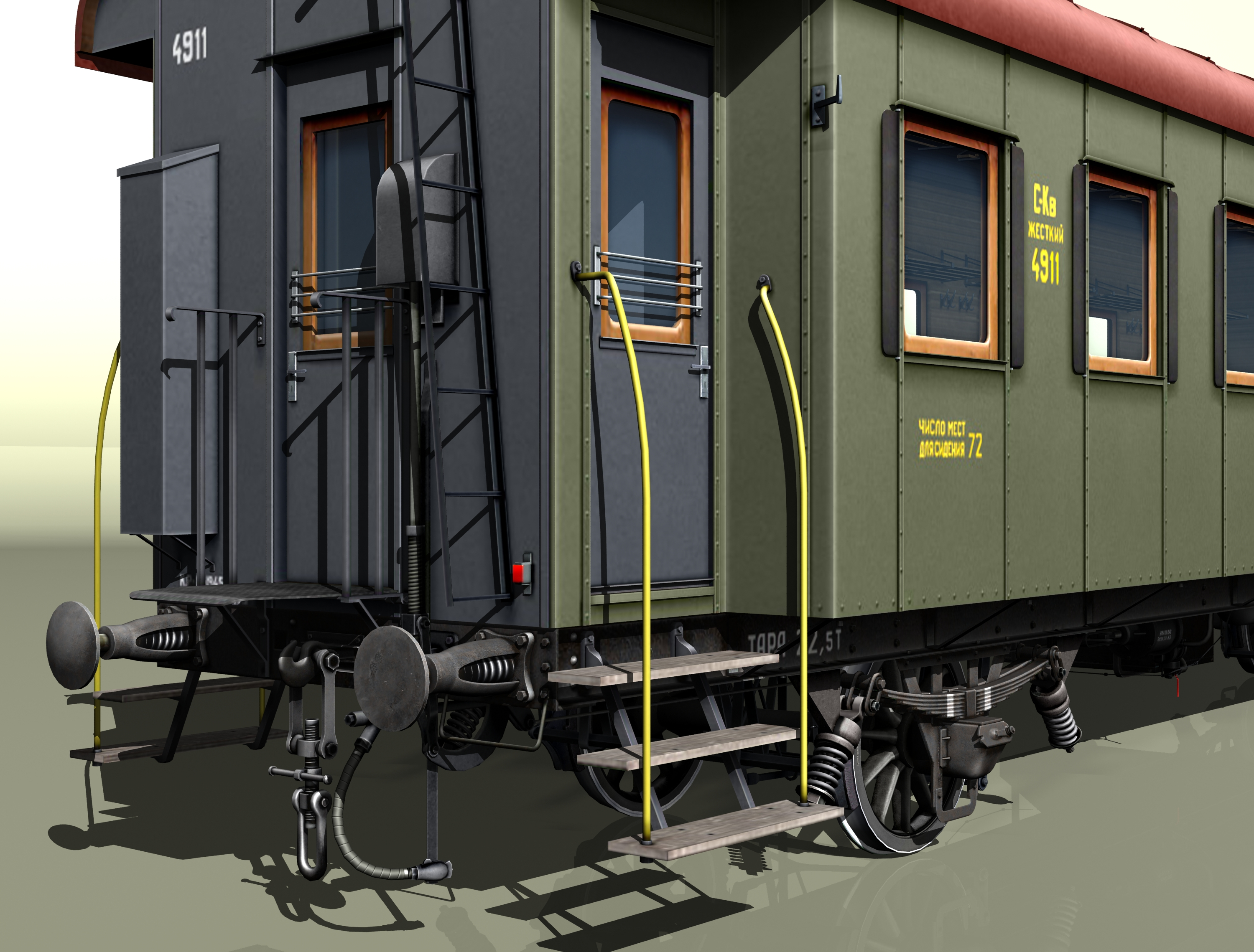 wagon passenger 2-axles 4911 3d model 3ds max fbx obj 213935