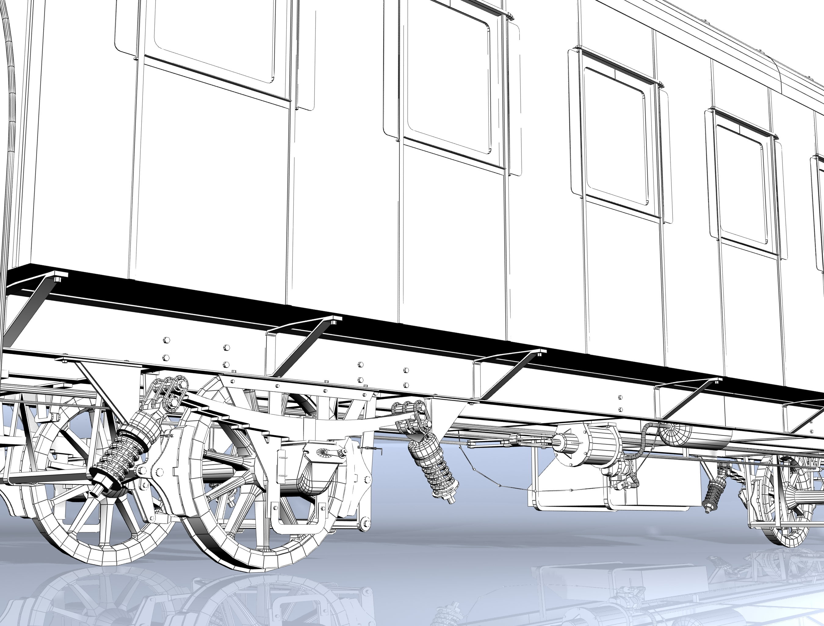 wagon passenger 2-axles 4911 3d model 3ds max fbx obj 213946