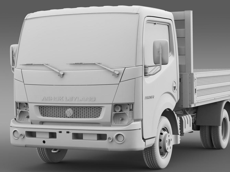 ashok leyland partner tipper 2015 3d model 3ds max fbx c4d lwo ma mb hrc xsi obj 213968