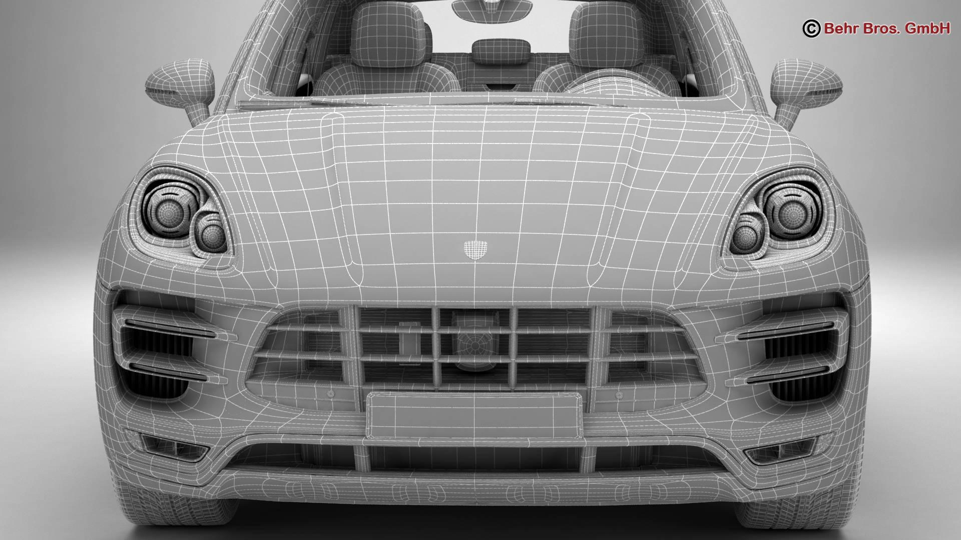 Porsche Macan Turbo 2015 3D Model – Buy Porsche Macan Turbo 2015 on