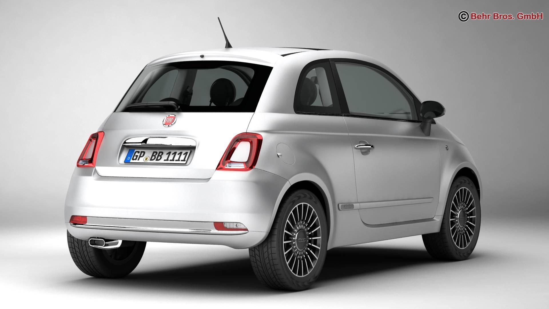 Fiat 3D model