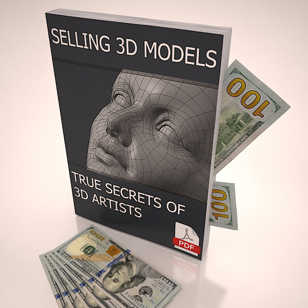 selling 3d models online etc make money 3d model max 214172