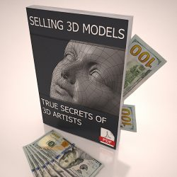 Selling 3D Models online etc make money 3d model 0