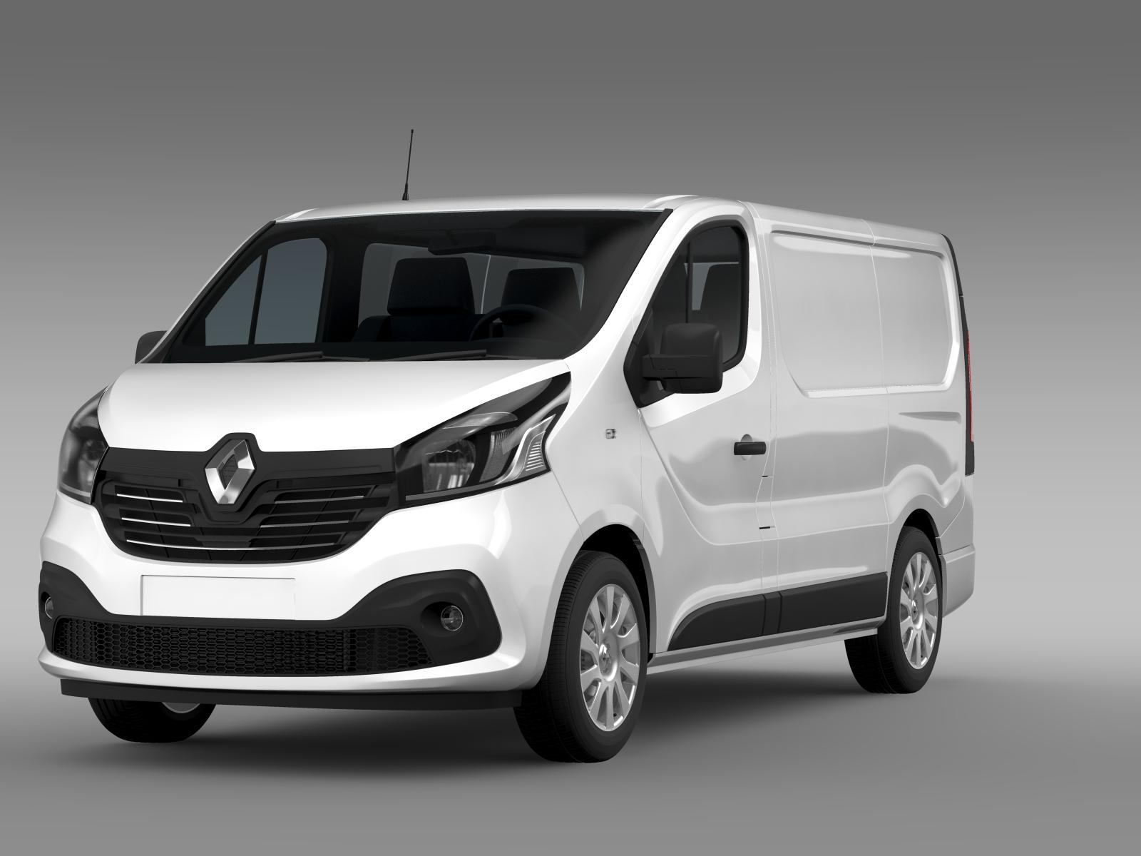 Renault Trafic Van 2015 3D Model – Buy Renault Trafic Van ...  Renault Trafic ...
