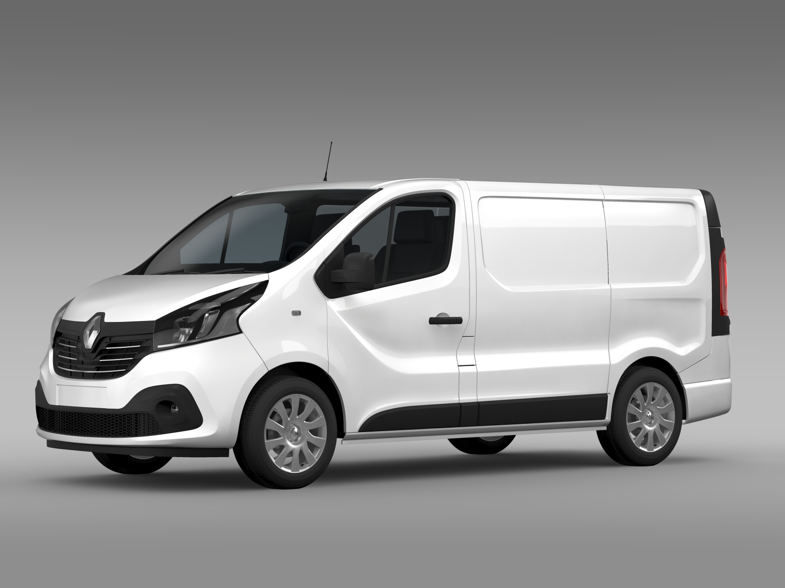 renault trafic van 2015 3d model buy renault trafic van 2015 3d model flatpyramid. Black Bedroom Furniture Sets. Home Design Ideas